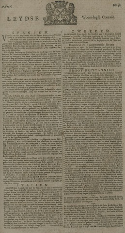 Leydse Courant 1727-04-30