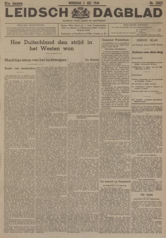 Leidsch Dagblad 1940-07-03