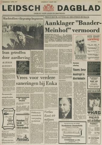 Leidsch Dagblad 1977-04-07