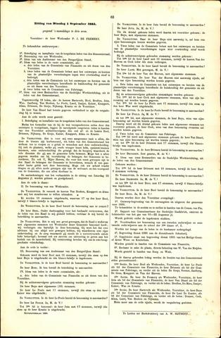 Handelingen van de Raad 1885-09-01