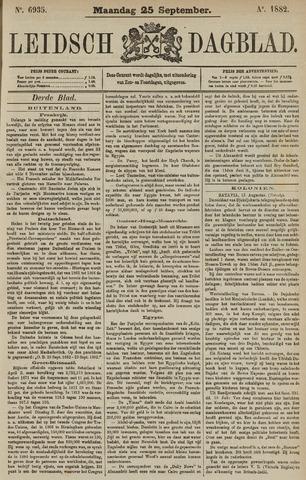 Leidsch Dagblad 1882-09-25