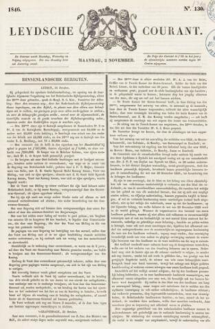 Leydse Courant 1846-11-02