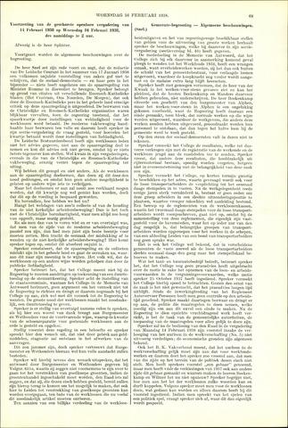 Handelingen van de Raad 1938-02-16