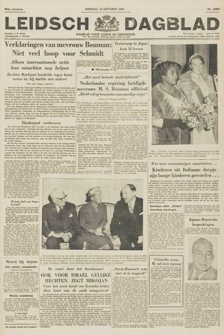 Leidsch Dagblad 1956-10-16