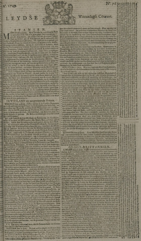 Leydse Courant 1749-06-25