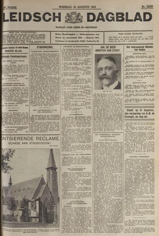 Leidsch Dagblad 1933-08-30