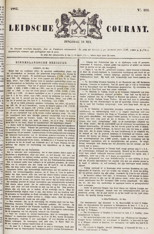 Leydse Courant 1882-05-16