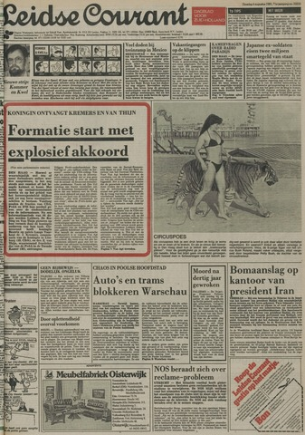 Leidse Courant 1981-08-04