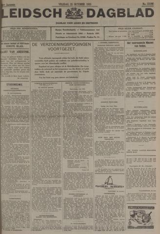 Leidsch Dagblad 1935-10-25