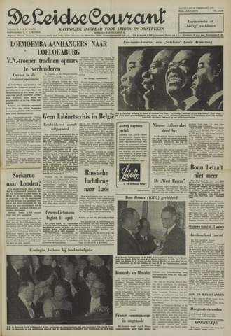 Leidse Courant 1961-02-25