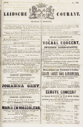 Leydse Courant 1873-11-17