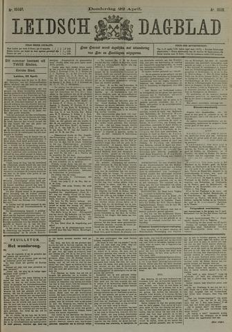 Leidsch Dagblad 1909-04-22