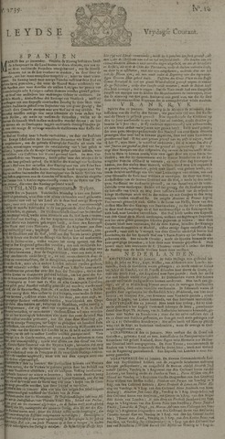 Leydse Courant 1739-01-23