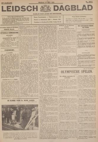 Leidsch Dagblad 1928-07-27