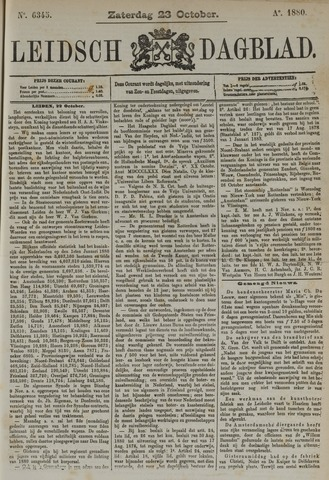 Leidsch Dagblad 1880-10-23