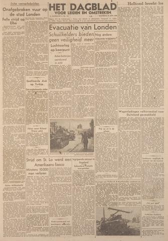 Dagblad voor Leiden en Omstreken 1944-06-19