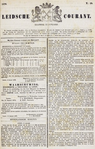 Leydse Courant 1879-01-13