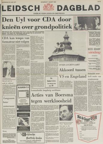 Leidsch Dagblad 1977-06-22