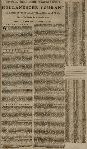 Leydse Courant 1795-11-04