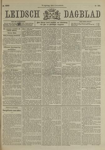 Leidsch Dagblad 1911-10-20