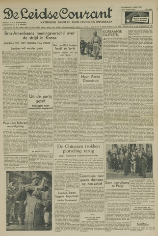 Leidse Courant 1951-04-07