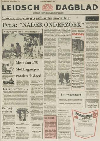 Leidsch Dagblad 1978-11-16
