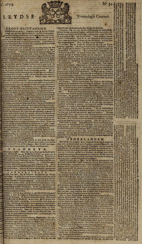 Leydse Courant 1753-04-25