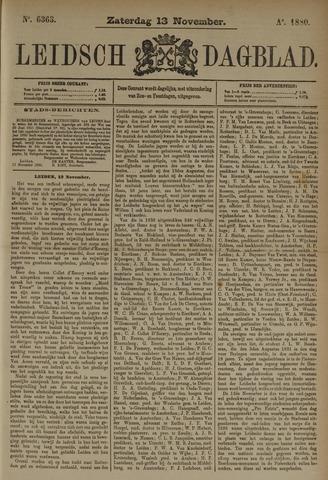 Leidsch Dagblad 1880-11-13