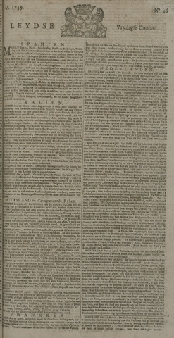Leydse Courant 1739-04-17