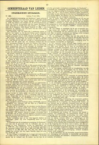 Handelingen van de Raad 1921-07-07