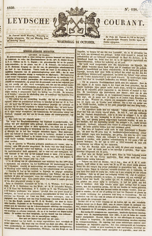 Leydse Courant 1860-10-24