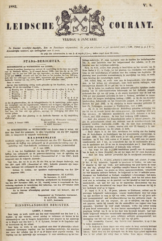 Leydse Courant 1882-01-06