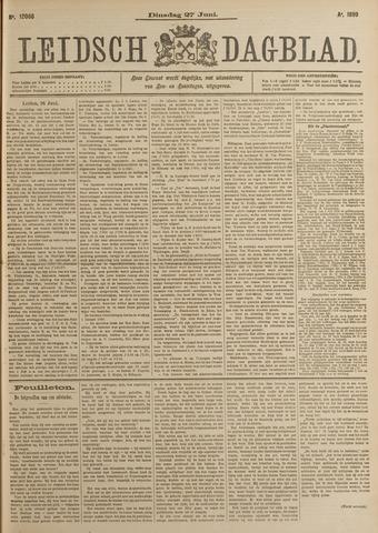 Leidsch Dagblad 1899-06-27
