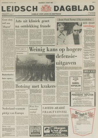 Leidsch Dagblad 1980-04-16