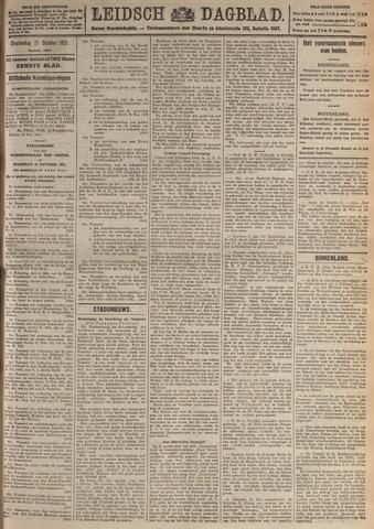 Leidsch Dagblad 1921-10-27