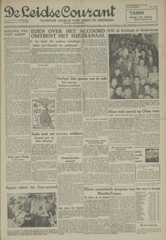 Leidse Courant 1954-07-29