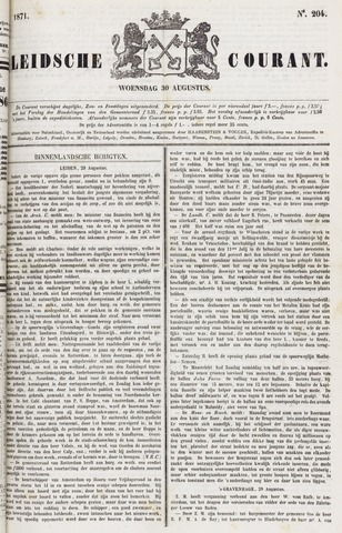 Leydse Courant 1871-08-30