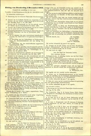 Handelingen van de Raad 1912-12-05