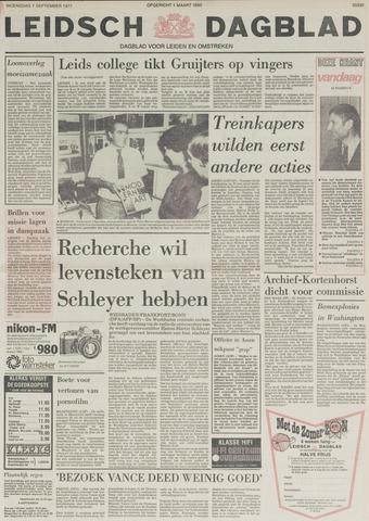 Leidsch Dagblad 1977-09-07