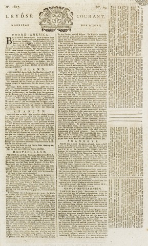 Leydse Courant 1817-06-11