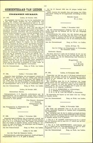 Handelingen van de Raad 1929-10-24