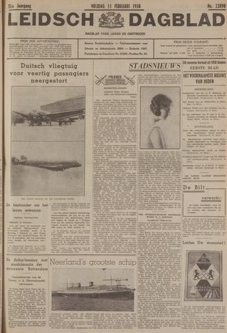 Leidsch Dagblad 1938-02-11
