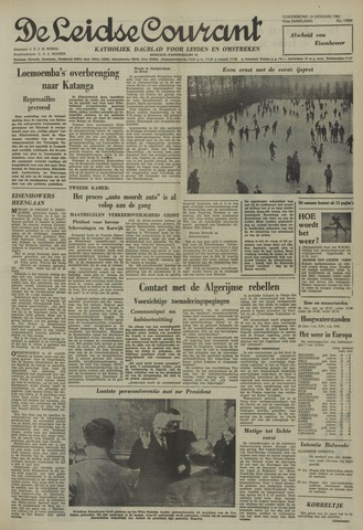 Leidse Courant 1961-01-19