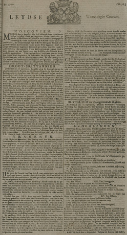 Leydse Courant 1729-09-21