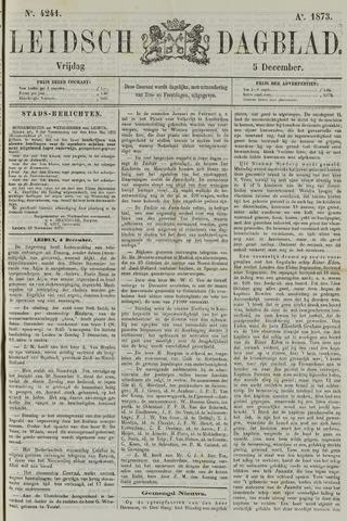 Leidsch Dagblad 1873-12-05