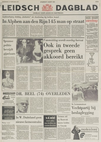 Leidsch Dagblad 1977-02-12