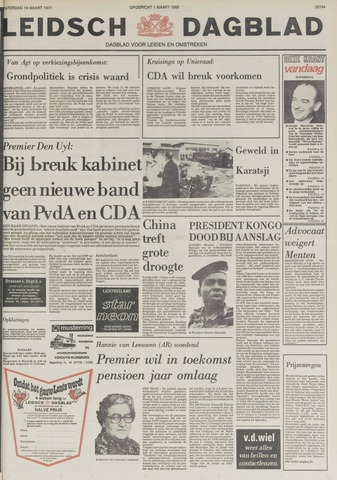 Leidsch Dagblad 1977-03-19
