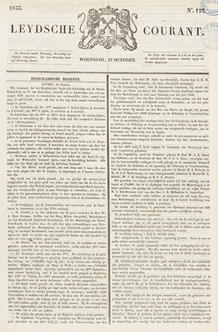 Leydse Courant 1853-10-12