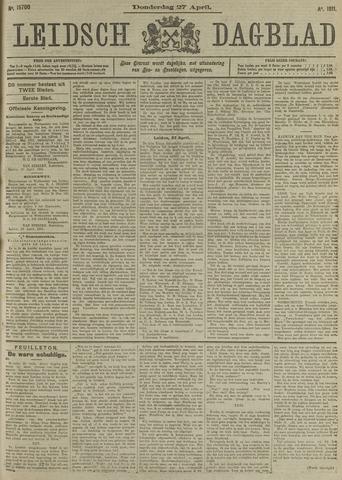 Leidsch Dagblad 1911-04-27