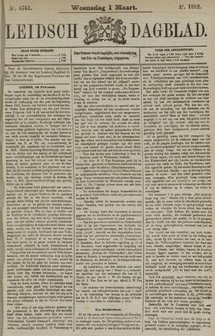 Leidsch Dagblad 1882-03-01
